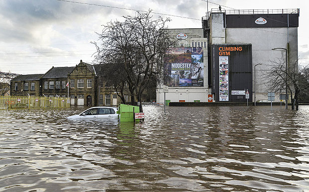 rokt flooding brighouse